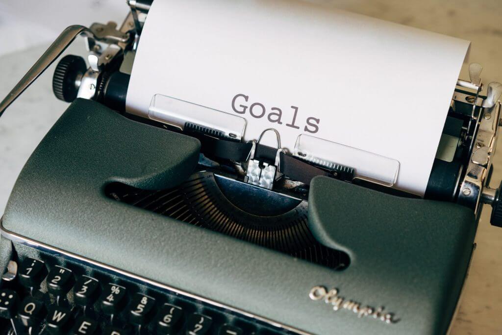 ergens heel goed in worden doelen opstellen