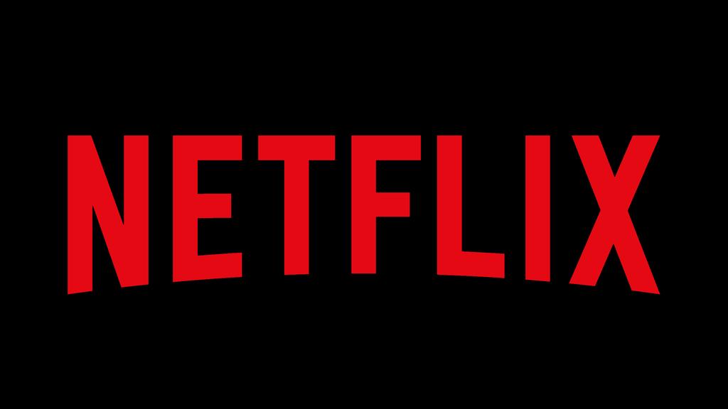 Netflix logo zwart rood