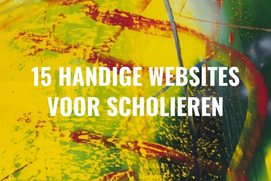 handige websites voor scholieren