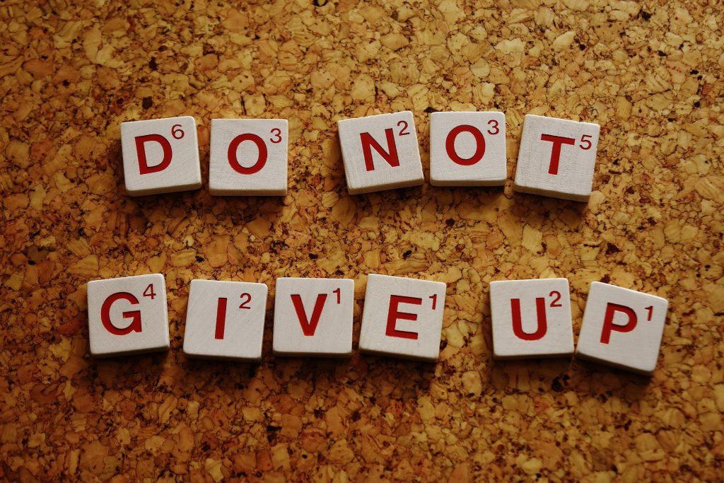motivatie voor school tips niet opgeven