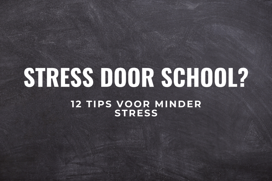 school stress tips titel