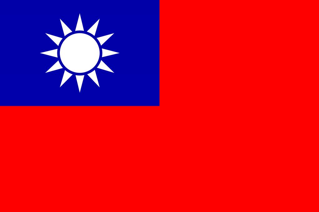 Taiwan flag afbeelding