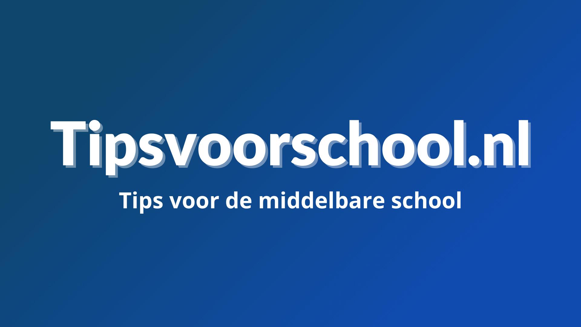 Tipsvoorschool.nl brand image