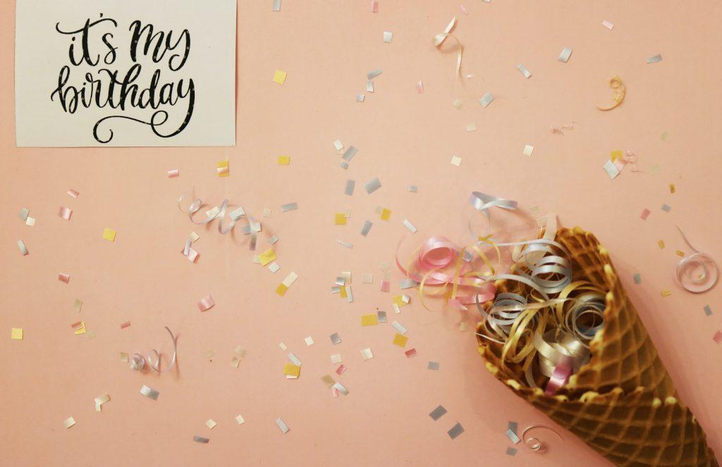 Happy Birthday Gefeliciteerd met je verjaardag