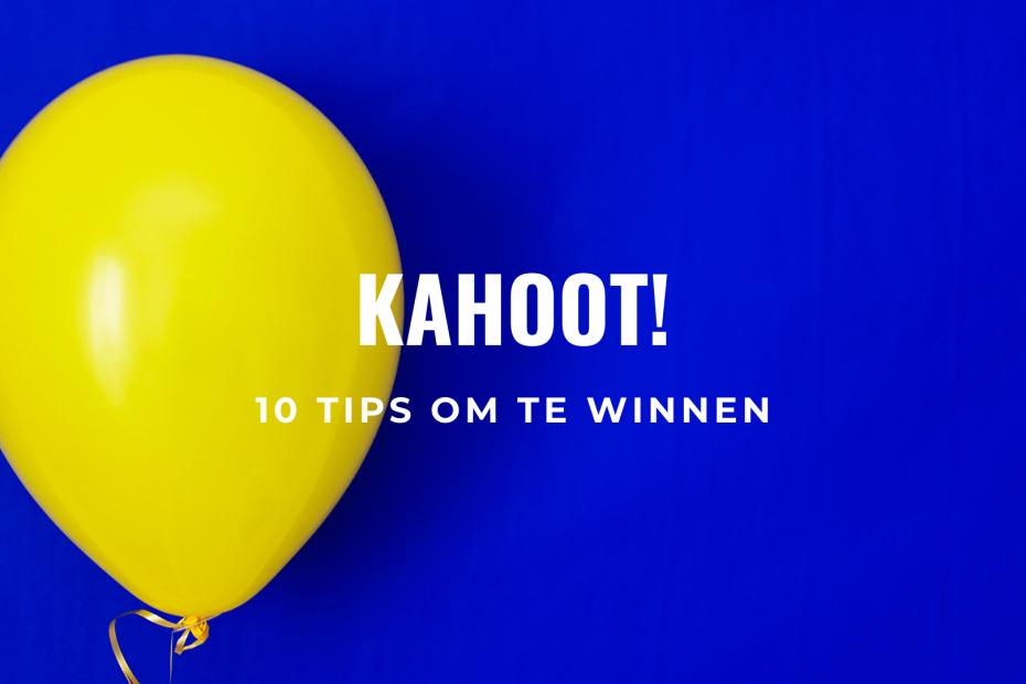 Kahoot tips om te winnen