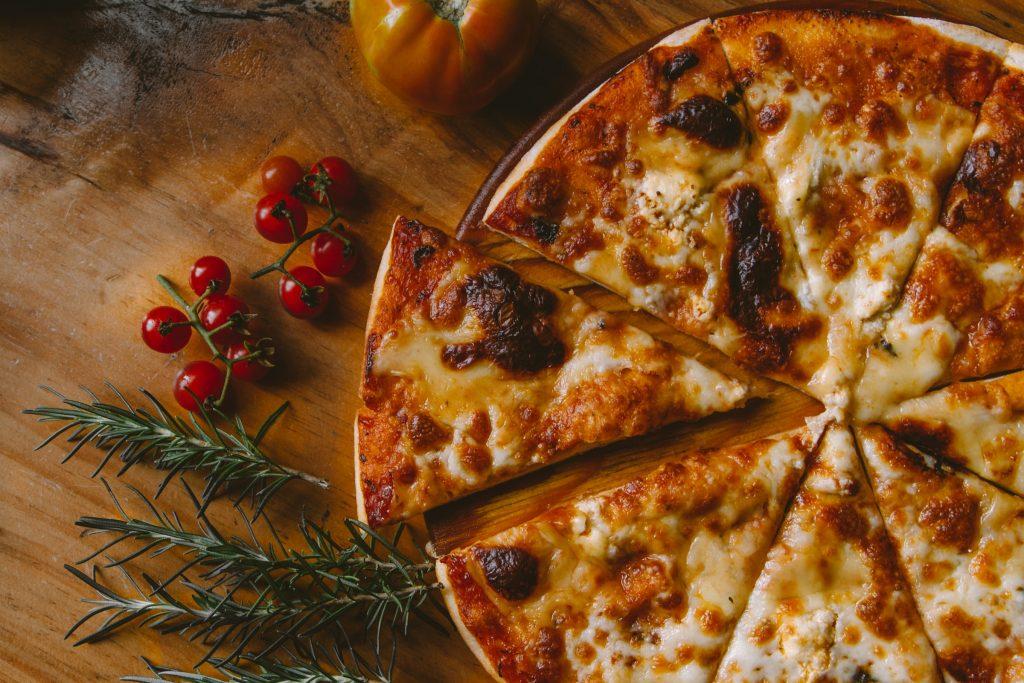 Verjaardag feest pizza